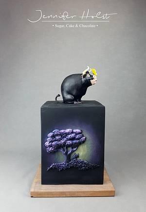 Ferdinand The Bull Movie Cake For Birthday Party - Cake by Jennifer Holst • Sugar, Cake & Chocolate •