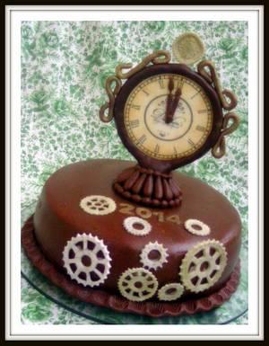 Happy New Year - Cake by Ildikó Dudek