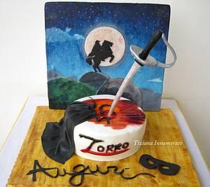 Zorro the chronicle - Cake by Tiziana Inn