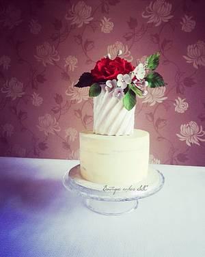 Flowers cake - Cake by DDelev