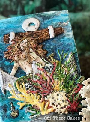 The Myth of the Mermaid - Cake by Out There Cakes