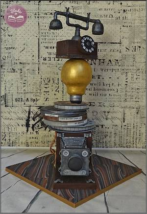 Great inventions of 19th Century - Cake by Studio53