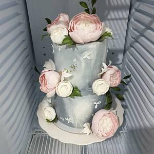 Wedding cake - Cake by TORTESANJAVISEGRAD