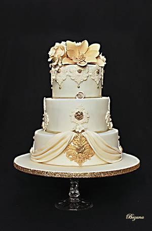 Wedding  cake - Cake by Zuzana Bezakova