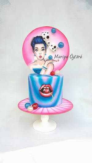"""Sweet Cherry"" - Cake by Mariya's Cakes & Art"