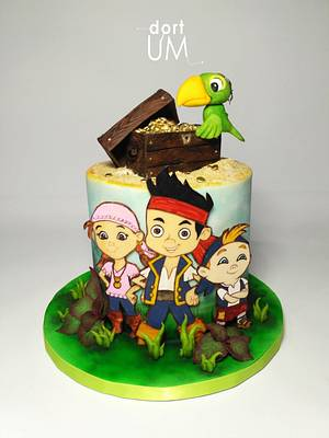 Jake and pirates - Cake by dortUM