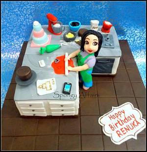 For a Cake Decorator :) - Cake by Meenakshi Jamadagni