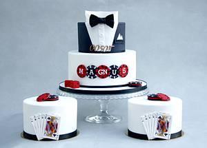 Bond themed cakes - Cake by Sannas tårtor