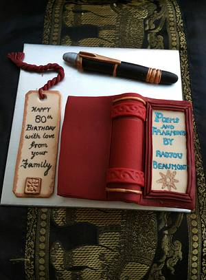 For an Author 📚✒ - Cake by CAKE RAGA