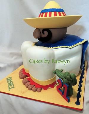 The Amigo - Cake by Raewyn Read Cake Design
