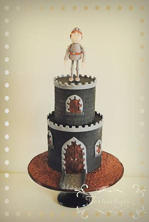 The Knight's Castle - Cake by Torteneleganz