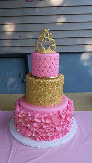 17th Birthday  - Cake by Nicole Verdina