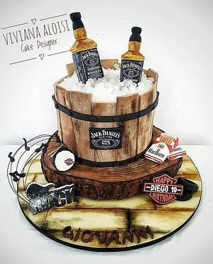 Jack Daniel's cake - Cake by Viviana Aloisi