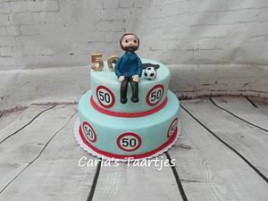 50 years - Cake by Carla