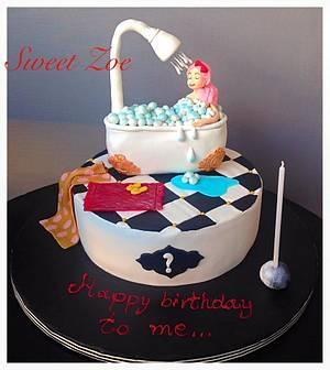 Happy birthday to me Cake - Cake by Dimitra Mylona - Sweet Zoe Cakes