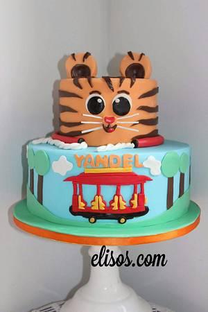 Yandel Tiger's Neighborhood  - Cake by Elisos