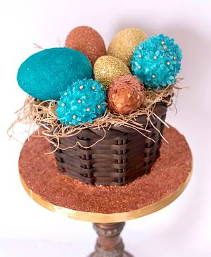 Easter in style - Cake by Delice
