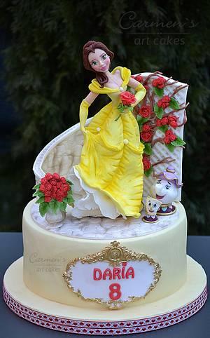 Beauty and the Beast cake - Cake by Carmen Iordache
