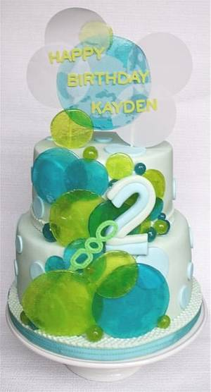 Bubbles for Kayden - Cake by milissweets