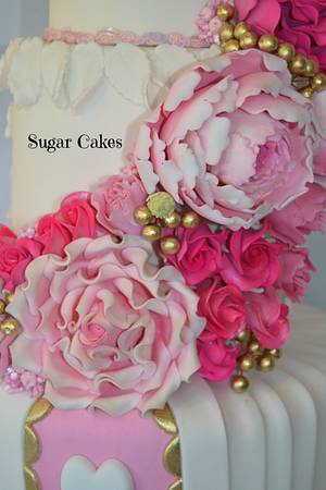 Splashes of Summer Berries  - Cake by Sugar Cakes