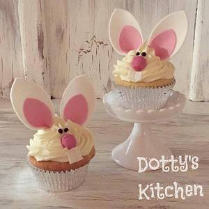 Easter Bunny Cupcakes - Cake by dottyskitchen