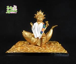 Goddess of the Sea - Beautiful Sri Lanka - Cake by Bety'Sugarland by Elisabete Caseiro
