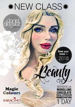 """Beauty"" NEW CLASS fo 2018 - Cake by Daniel Diéguez"