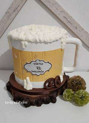 Bday Beer Cup - Cake by Kaliss