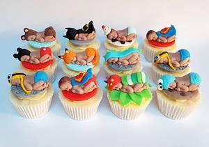 Babyshower cupcakes - Cake by Vanilla Iced