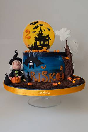 Halloween cake - Cake by Art Bakin'