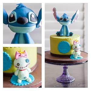 Stitch & Scrump Birthday Cake - Cake by Heidi