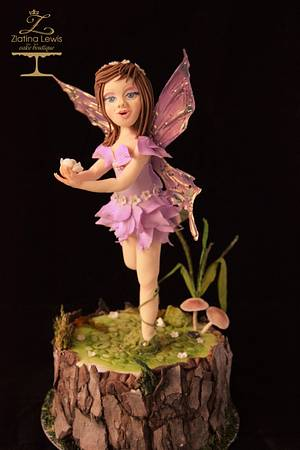 Woodland fairy - CPC World Day Collaboration  - 2018 - Cake by Zlatina Lewis Cake Boutique