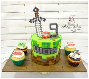 minecraft - Cake by Hopechan