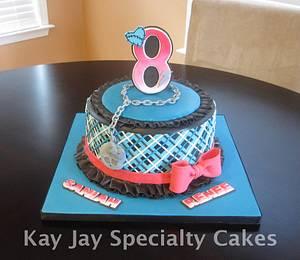 Monster High Cake and Matching Cake Pops - Cake by Kimberley Jemmott