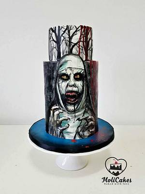 Conjuring cake - Cake by MOLI Cakes