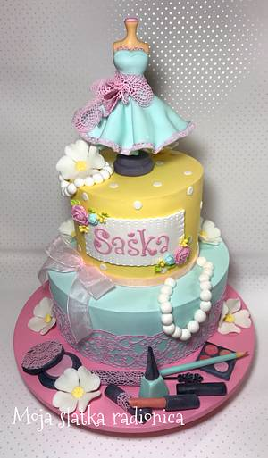 Girls cake - Cake by Branka Vukcevic