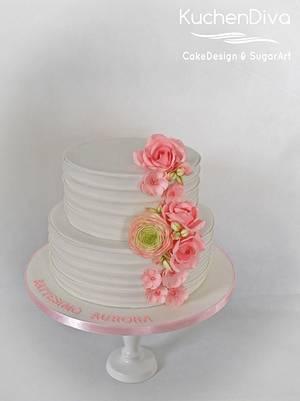Aurora's christening cake - Cake by KuchenDiva