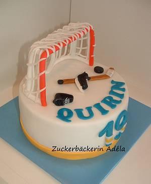 Eishockey cake - Cake by Adéla