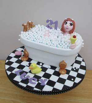 Bathtime Bubbles - Cake by The Buttercream Pantry