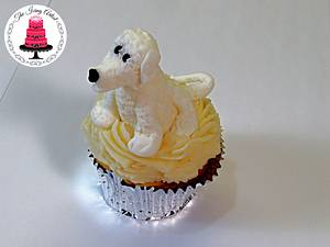 3D Gumpaste Puppy Dog Figure! - Cake by The Icing Artist