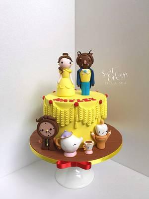 Beauty and the Beast - Cake by Lulu Goh