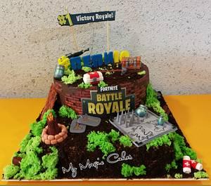 Fortnite game cake  - Cake by My Magic Cakes