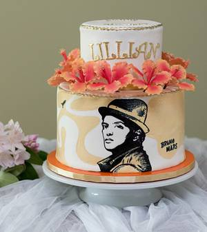 Vacationing in Hawaii... Bruno Mars style!  - Cake by Princess of Persia