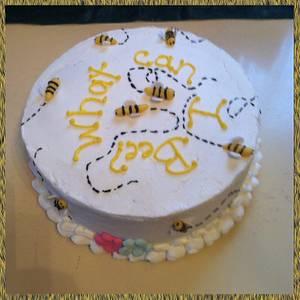 Gender Reveal Cake - Cake by Michelle Allen