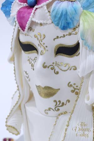 Venetian Carnival Collaboration - Elegance - Cake by Ashwini Sarabhai