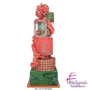 Aesthetic Wedding Cake - Cake by Rachana