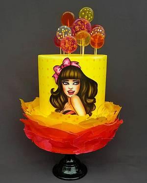 Dancing star - Cake by Mariya's Cakes & Art