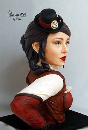 Lady Eugene, Steam Cake Collaboration - Cake by Rosa Guerra (Tartas Oh by Rosa)