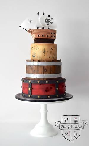 Pirate's Bounty - Cake by Van Goh Cakes