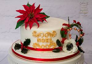 Family Christmas cake 2015 - Cake by Cakes By No More Tiers (Fiona Brook)